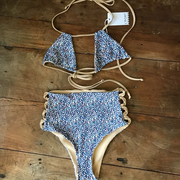 ac9440917c l'port Swim | Reversible Lport Bikini | Poshmark